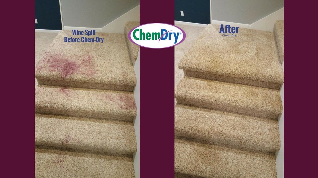 Red Wine Removal from Carpet