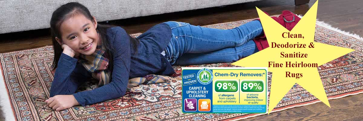 Area Rug Cleaning and Oriental Rug Cleaning by Chem-Dry