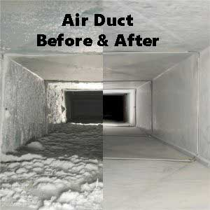 Air Duct Cleaning gives you a healthier home!